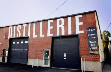 Distillerie extérieure